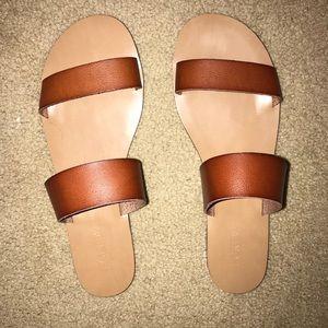 NWOT Jcrew Double Strap Sandal